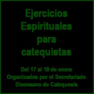 Ejercicios para catequistas